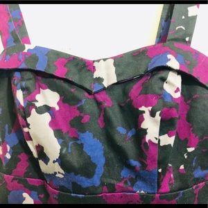 Purple camouflage top